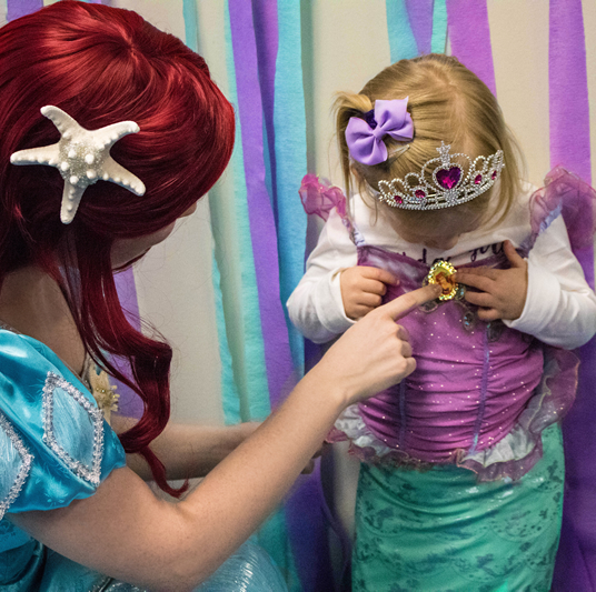 How to Decorate for an Ariel Party